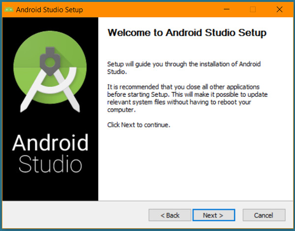 android-studio-install-first-window