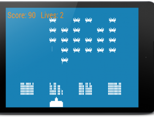 Coding a Space Invaders game for Android