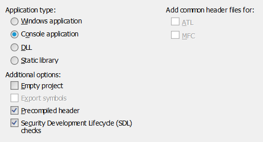 sfml_visual_studio_application_settings