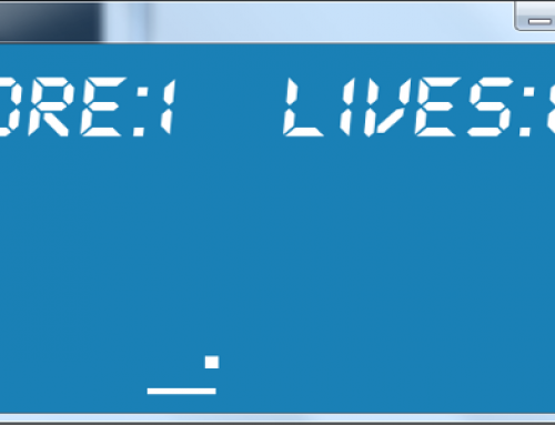 Coding a simple Pong game with SFML