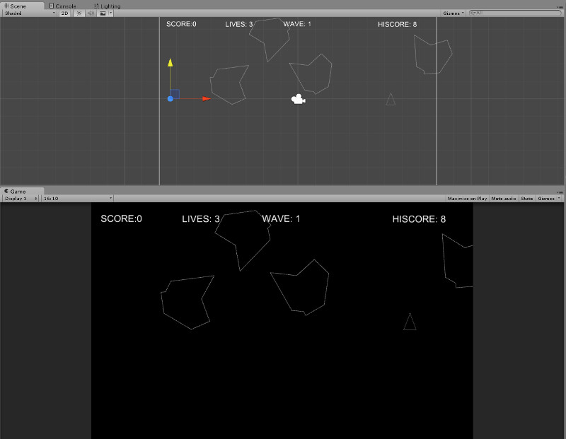 asteroids-in-unity-completed-project