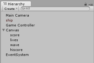 unity-canvas-with-child-text-objects