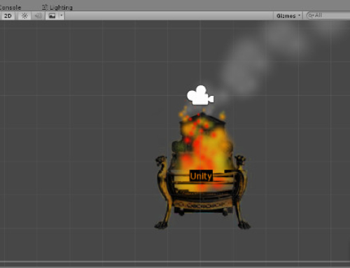 Unity particle systems: Building  a fireplace effect