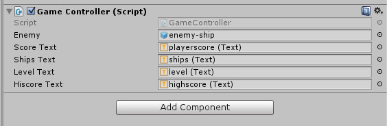 adding-references-togamecontroller-script