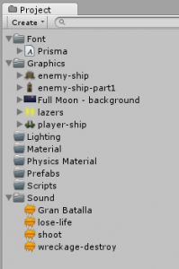 unity-project-tab-after-importing-assets