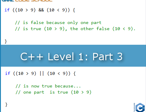 C++ condition checking in a game