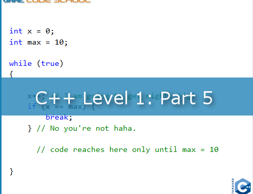 Loops in the game code