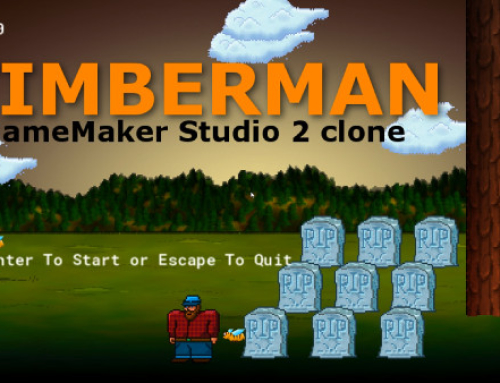 Buiding a Timberman Game in GameMaker Studio 2